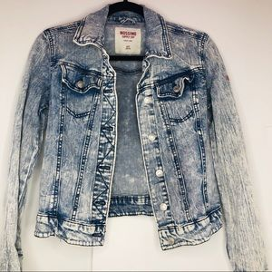 Mossimo women's jean jacket XS acid wash